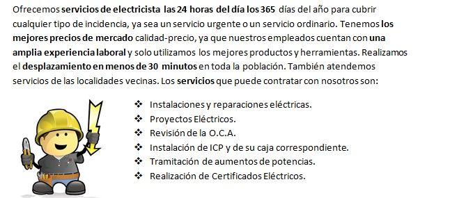 Electricistas Vilallonga del Campo Baratos